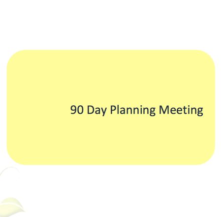 L2G Workbook - 90 Day Planning Meeting