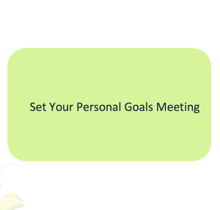 L2G Workbook - Set Your Personal Goals Meeting
