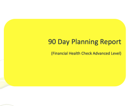 90 day planning report