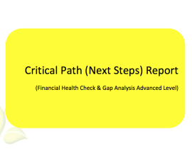 L2G Workbook - Critical Path (Next Steps) Report