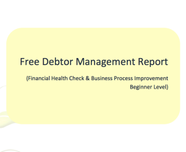 free debtor management report
