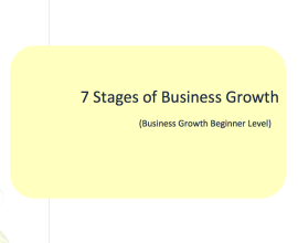 L2G Workbook - 7 Stages of Business Growth Workbook