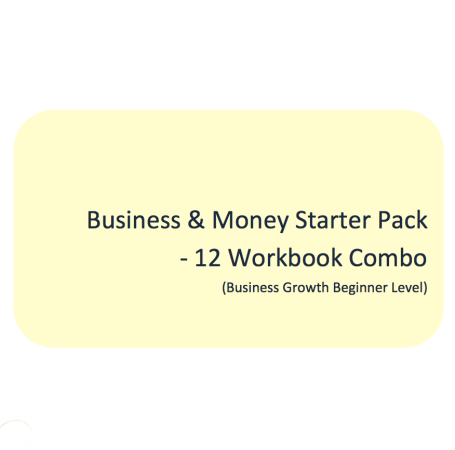 L2G Workbook Combo - Business & Money Starter Pack (12 Workbook Combo)