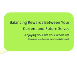 L2G Workbook - Balancing Rewards Between Your Current and Future Selves