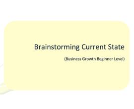 TL L2G Workbook - Brainstorming Current State