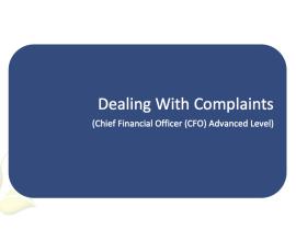 L2G Workbook - Dealing with Complaints