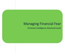 L2G Workbook - Managing Financial Fear