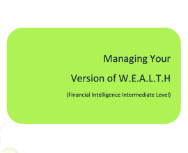 L2G Workbook - Managing Your Version of W.E.A.L.T.H