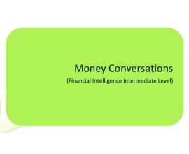 L2G Workbook - Money Conversations