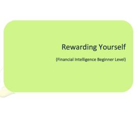 L2G Workbook - Rewarding Yourself
