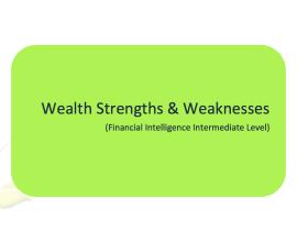L2G Workbook - Wealth Strengths & Weaknesses