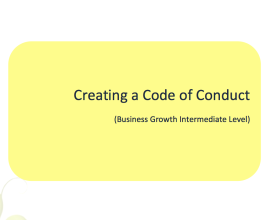 L2G Workbook - Creating a Code of Conduct