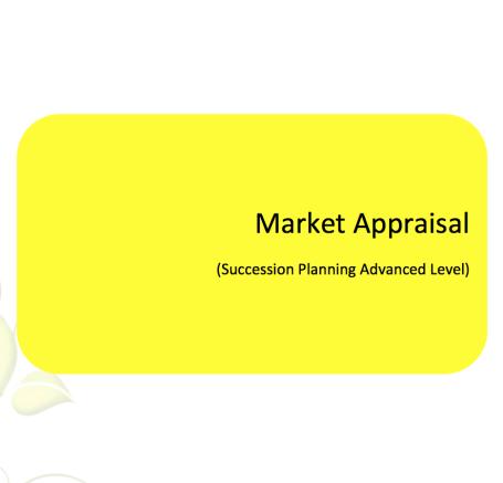 L2G Workbook - Market Appraisal