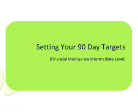 L2G Workbook - Setting Your 90 Day Targets - Personal Goals