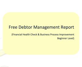 free debtor management report