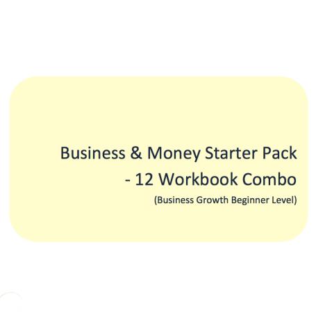 L2G Workbook Combo - Business & Money Starter Pack (12 Workbook Combo)